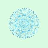 abstraiga el fondo Círculo hermoso del vector Imagen de archivo