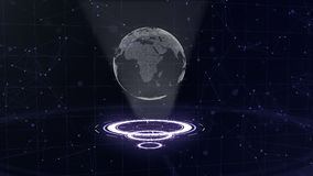 abstraiga el fondo C?rculos que brillan intensamente Violeta brillante, espiral p?rpura T?nel del espacio Copie el espacio Cierre libre illustration