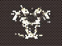 abstraiga el fondo Clip art del vector Fotos de archivo libres de regalías