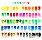 abstraiga el fondo Color de agua Fotos de archivo libres de regalías