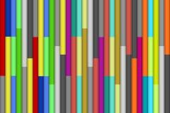 Abstraiga el fondo con las líneas coloridas ilustración del vector