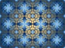 Abstraiga el fondo floral Imagenes de archivo