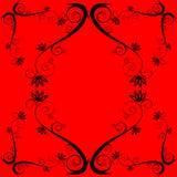 Abstraiga el fondo floral Imagen de archivo
