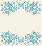 Abstraiga el fondo floral Cordón inconsútil Imagen de archivo libre de regalías