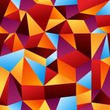 Abstraiga el fondo geométrico del modelo Foto de archivo