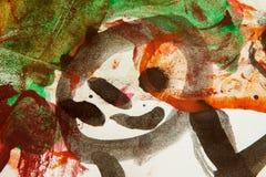 Abstraiga el fondo pintado Imágenes de archivo libres de regalías