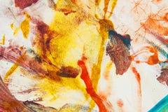 Abstraiga el fondo pintado Foto de archivo libre de regalías