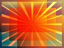 abstraiga el fondo rayos Vector Fotos de archivo