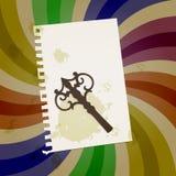 Abstraiga el fondo retro Fotos de archivo libres de regalías