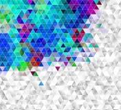 abstraiga el fondo textura triangulada del mosaico Imagen de archivo