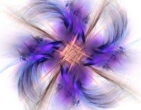 Abstraiga el fractal stock de ilustración