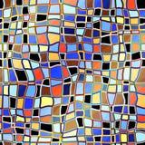 Abstraiga el mosaico Fotografía de archivo