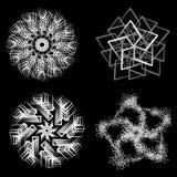 Abstraiga el ornamento ilustración del vector