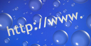 Abstraiga el Web que hojea   Fotografía de archivo