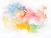Abstraiga la pintura de la acuarela. ilustración del vector