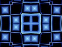 Abstraiga la ventana azul Libre Illustration