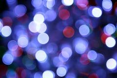 Abstraiga las luces Foto de archivo libre de regalías