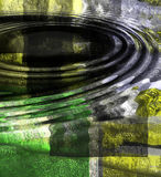 Abstraiga las ondulaciones Fotos de archivo libres de regalías