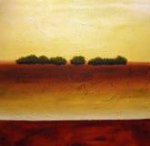 Abstraiga los árboles Foto de archivo libre de regalías