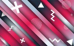 Abstraiga los fondos Papel pintado geom?trico abstracto creativo Colores del contraste Disposici?n de dise?o del vector para las  fotos de archivo