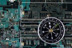 Abstrait électronique Image stock