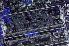 Abstrait électronique Photos libres de droits