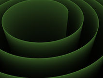 abstrait 3d spiralé Photo stock