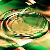 Abstrait avec l'ovale Images stock