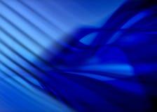 Abstrait bleu Photographie stock