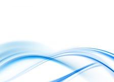 Abstrait bleu Image libre de droits