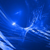 Abstrait bleu Images stock