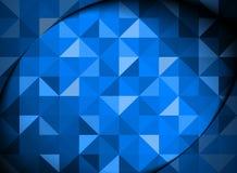Abstrait bleu Images libres de droits