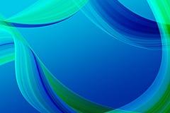 Abstrait bleu illustration libre de droits