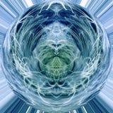 Abstrait bleu et vert Photo stock