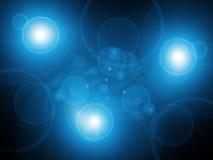 Abstrait bleu frais Photographie stock libre de droits