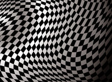 Abstrait Checkered Photo stock