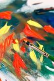 Abstrait de peinture Photographie stock