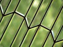 Abstrait en verre conique Image libre de droits