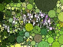 Abstrait en vert photo libre de droits