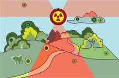 Abstrait environnemental illustration libre de droits