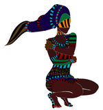 Abstrait ethnique Image stock