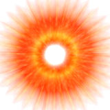 Abstrait - explosion illustration stock