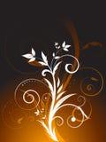 Abstrait floral illustration libre de droits