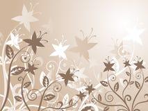 Abstrait floral Photographie stock libre de droits