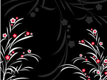 Abstrait floral Photo stock