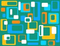 Abstrait géométrique coloré   Image libre de droits