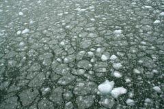 Abstrait, glace impétueuse Photos libres de droits