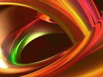Abstrait liquide coloré illustration libre de droits