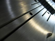 Abstrait métallique Image libre de droits