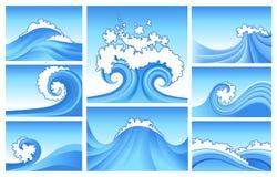 Abstrait marin Photo libre de droits